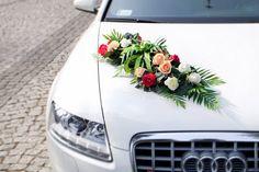 Dekoracja na samochód Red Roses