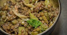 Cuisine-à-Vous - Linzenrisotto met groene kool en truffel