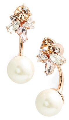 Pretty kate spade sparkly earrings