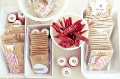 ideas for using baking pans in organization