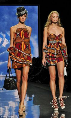Gwen Stefani LAMB designs with African infusions