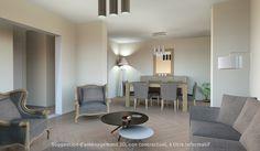 proposition d'#aménagement3D pour cet appartement de 4P à #Juvisy.