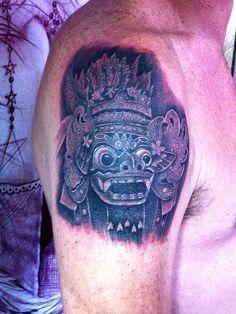 barong tattoo balines