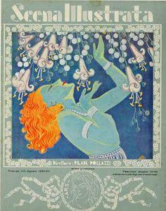 scena illustrata poster 1930