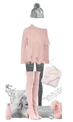"""""""My Day~"""" by dianefantasy ❤ liked on Polyvore featuring Wolford, Philosophy di Lorenzo Serafini, Stuart Weitzman, Ashlyn'd, S'well, polyvorecommunity and polyvoreeditorial"""