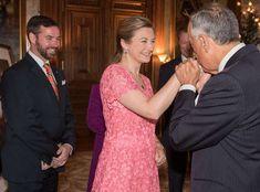 Grand Ducal Family welcomed President of Portugal