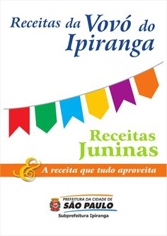 Livro receitas vovo ipiranga volume2  Receitas da Vovò do Ipiranga - Receitas Juninas