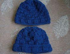Erkekler İçin Bere Şapka Örülüşü