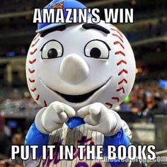 Mets Amazins Wins