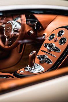 You will ❤ MACHINE Shop Café... (The Bugatti ƎB Veyron Interior)