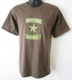 Be sure to stop by http://stores.shop.ebay.com/J-and-S-Menswear and check out this terrific men's Hooters t-shirt only $17.85, Brand New!  Be sure to check out all our great deals on name brand clothing like Polo Ralph Lauren, Tommy Hilfiger, Tommy Bahama, and more!