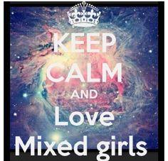 Mixed girl!