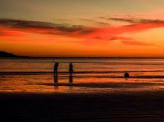 Fotografía realizada en la playa de la Madorra (Nigran) por Jpcrespo Environment, Celestial, Sunset, Nature, Outdoor, Beach, Pictures, Outdoors, Naturaleza