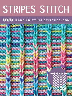 All knitting stitch patterns are hand-knit. We are advanced knitters and try to … All knitting stitch patterns are hand-knit. We are advanced knitters and try to …,Knit and Crochet All knitting stitch patterns. Slip Stitch Knitting, Knitting Terms, Knitting Stiches, Knitting Patterns Free, Free Knitting, Knitting Projects, Crochet Stitches, Knitting Ideas, Scarf Patterns