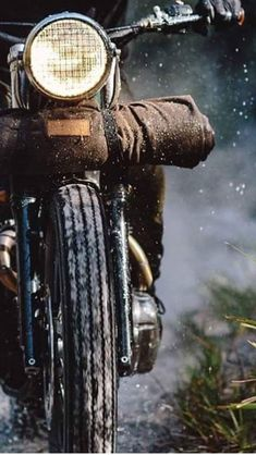 Neat picture of a motorcycle