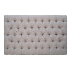 Freshen up your bedroom with our easy to hang Sloane buttoned headboard in a choice of one of our superb quality fabrics. Available in sizes from single to king. Custom fabrics and colours available on request. All headboards are finished with a piped edge. Fabric Samples, Custom Fabric, Mattress, Upholstery, It Is Finished, Colours, House Renovations, Headboards, Fabrics