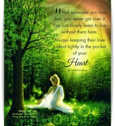 ....tightly in the pocket of your heart