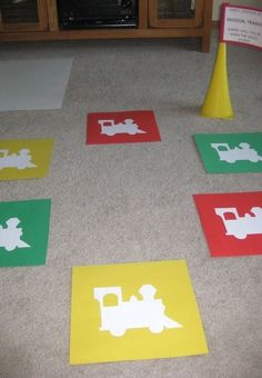 Lots of great game and set up ideas for Thomas Birthday Party!