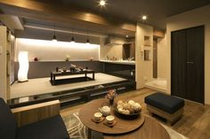 Japanese Home Design, Modern Japanese Architecture, Japanese Style House, Asian Architecture, Japanese Interior, Japanese Modern, Bedroom Minimalist, Home Office, Playroom Design