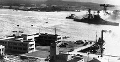 Except for USS Arizona, all of the battleships attacked at Pearl Harbor on 7 December 1941 were later raised, and saw the end of WWII. Naval History, Us History, Military History, American History, Uss Maryland, Uss Pennsylvania, Uss Oklahoma, Uss Arizona Memorial, Us Navy Ships