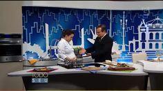 #gastronomiacontemporânea #contemporaryrestaurant Chef Juliana Amorim no Todo Seu | Ronnie Von | TV Gazeta. Ecully Gastronomia. Novembro de 2015.