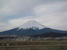 Mt. Fuji from Fujiyoshida-city on 22nd March