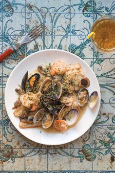 This shellfish-sauced recipe for sole au vin blanc uses Dover sole, but any fillet—tilapia, turbot, or even salmon—will work