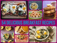 54 Delicious Breakfast Recipes