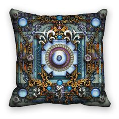 Unique Mandala Art Pillow Cover Decorative