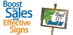Boost Your Sales with Effective Signs - Fire Mountain Gems and Beads