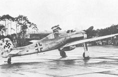 Focke-Wulf Ta 152 (1944-?) was a World War II German high-altitude fighter-interceptor designed by Kurt Tank and produced by Focke-Wulf. The Ta 152 was a development of the Focke-Wulf Fw 190 aircraft. Ta 152 entered service in January 1945 with 44 planes delivered to Luftwaffe before the end of the war.