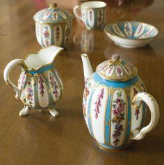 Sevres Celeste Tea pot - tea set