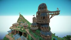 Cool Minecraft temple