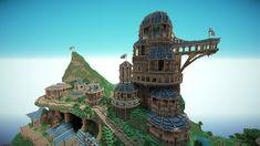 Cool Minecraft temple