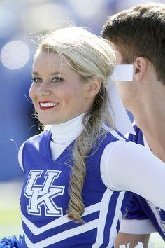 University of Kentucky Cheerleading. The Nations Best! Go Big Blue! Cheerleading Jumps, Cheer Stunts, College Cheerleading, University Of Kentucky, Kentucky Wildcats, Cheer Pictures, Cheer Pics, Kentucky Sports, Hot Cheerleaders