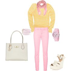 Spring Outfit, Polyvore