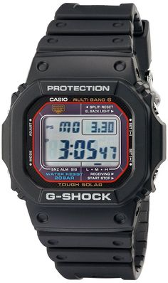 Casio Men s GWM5610-1 G-Shock Solar Watch with Black Band Cool Watches 04523b2225