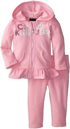 Calvin Klein Baby-Girls Infant Hoody... $24.99 #topseller