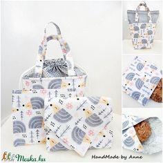 ÖKO Kids bag set - sünis uzsonnás táska szett - NoWaste csomagolás! (annetextil) - Meska.hu Bagan, Holiday Decor, Box, Kids, Home Decor, Young Children, Snare Drum, Boys, Decoration Home