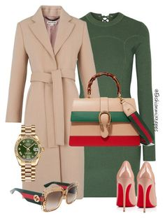 Its Gucci Time by fashionmixtapes on Polyvore featuring 3.1 Phillip Lim, Whistles, Gucci, Rolex and Christian Louboutin