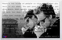 Quote from Boondock Saints
