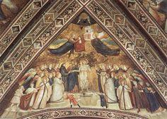 'Franciscan Allegorien: Allegorie der Armut', freskos von Giotto Di Bondone (1266-1337, Italy)