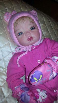 Купить кукла реборн Ханна - сиреневый, подарок на день рождения, подарок на…