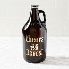 Cheers For Beers Growler