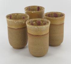 stonewear cups from madaboutpottery, Gittit Rad-el