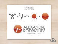 Identidade visual Personal Trainer Alexandre Rodrigues. Profissional que atua no treinamento físico de alunos em condomínios e academias alto padrão em Goiânia. A Tudo Marketing foi convidada a desenvolver a identidade visual da marca do profissional, transmitindo energia e modernidade. #EducacaoFisica #Treino #Gym #AlexandreRodrigues #Fitness #Branding #IdentidadeVisual #TudoMkt #Tudomarketing #Marketing #Portfolio #TudoMarketing #TudoMkt