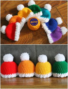 Crochet Flower Patterns Free Christmas Crochet Patterns You'll Love To Make - We've put together the cutest collection of Free Christmas Crochet Patterns that you will love. Check out the Nativity scene, hats, snowflakes and more. Crochet Christmas Decorations, Crochet Santa, Crochet Christmas Ornaments, Crochet Decoration, Crochet Gifts, Crochet Things, Crochet Puff Flower, Crochet Flower Patterns, Crochet Flowers