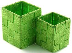 Картинки по запросу органайзер плетеный  в ящик своими руками