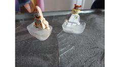 Pista de hielo casera para muñecos infantiles - Juntines.com
