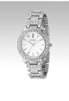 Fossil� Ladies Mid size Round Silver Bracelet